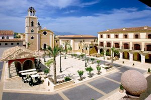 Melia Villaitana Golf Resort Main Square